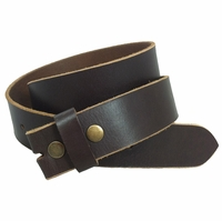 BS1200 100% Leather Belt Strap - Brown