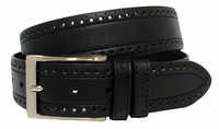 BS4000 Men's Leather Casual Jean Belt Black  $24.95