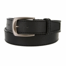Cable Genuine Leather Black Golf Belt