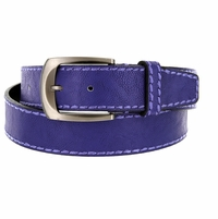 Cable Genuine Leather Purple Golf Belt