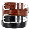 Canyon Men's Italian Leather Designer Dress Belt