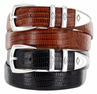 Canyon Men's Italian Leather Designer Dress Belt $32.50