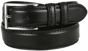 "Carter Black Genuine Leather Dress Belt 1-1/8"" Wide $29.95"