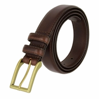 "Carter Men's Genuine Leather Dress Belt 1-1/8"" Wide - Brown"