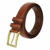 "Carter Men's Genuine Leather Dress Belt 1-1/8"" Wide - Tan"