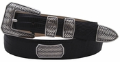 Christe Verde Italian Leather Designer Dress Belt $39.50