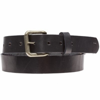 Classic Saddle Leather Belt Black