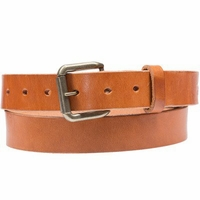 Classic Saddle Leather Belt Tan