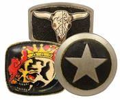 Unique Belt Buckles (Click here to see more Styles)