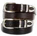 "Coronado Two Tone Designer Belt 1 1/8"" Wide"