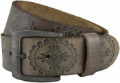 Daisy's Vintage Western Casual Genuine Leather Jean Belt