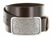 Denver Western Full Grain Leather Casual Belt $27.95
