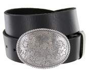 El Paso Western Trophy Buckle Full Grain Leather Casual Belt  $27.50