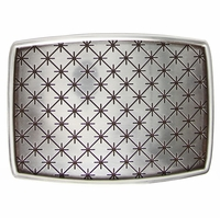 English Silver Belt Buckle