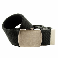 Fabric Web Belt 1.5 inch wide - Black