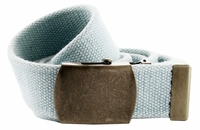 Fabric Web Belt 1.5 inch wide - Light.Blue