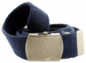 Fabric Web Belt 1.5 inch wide - Navy