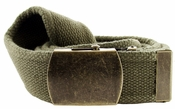 Fabric Web Belt 1.5 inch wide - Olive