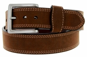 G Bar D Men's Western Crazy Horse Leather Belt 1-1/2""