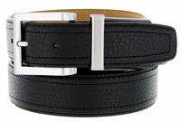 "Men's Genuine Leather Dress Golf Belt 1-3/8"" Wide"