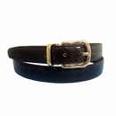 "Genuine Snake Leather Belt 1"" Wide"