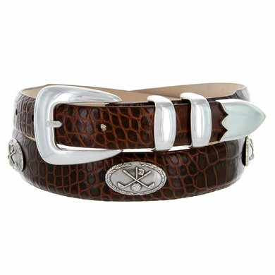 Golf Belt of Palisades Italian Leather Golf Belt