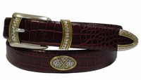 Golf Classic Crossed Golf Clubs Conchos belt $39.50