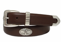 Golf Club Men's Golf Concho Leather Belt $39.50