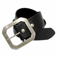 "HB24641 Full Grain Leather Belt 2"" Wide"