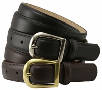 "Heather Womens Italian Calfskin Leather Dress Belt 1"" Wide"