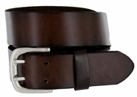Indiana Twin Hole Brown Full Grain Leather Belt