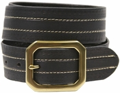 Jackson Genuine Full Grain Leather Jean Belt-Black $14.50