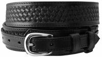 10572 James Western Basketweave Ranger Belt-Black