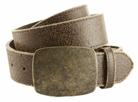 "JH-67756 Leather Casual Jean Belt 1 1/2"" Wide-Brown $24.95"