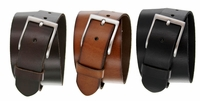 JT-10699 Men's Full Grain Leather Casual Jean Belt