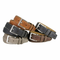 "Classic Genuine Leather Office Career Dress Belt 35MM - 1 3/8"" wide"