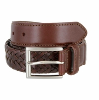 LA1166 Woven Leather Belt