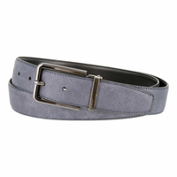 LA1183 Crosshatch Embossed Leather Belt