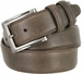 "Lejon 2042 Genuine Italian Calfskin Leather Dress Casual Belt 1-3/8"" (35mm) wide with Gunmetal Buckle2"
