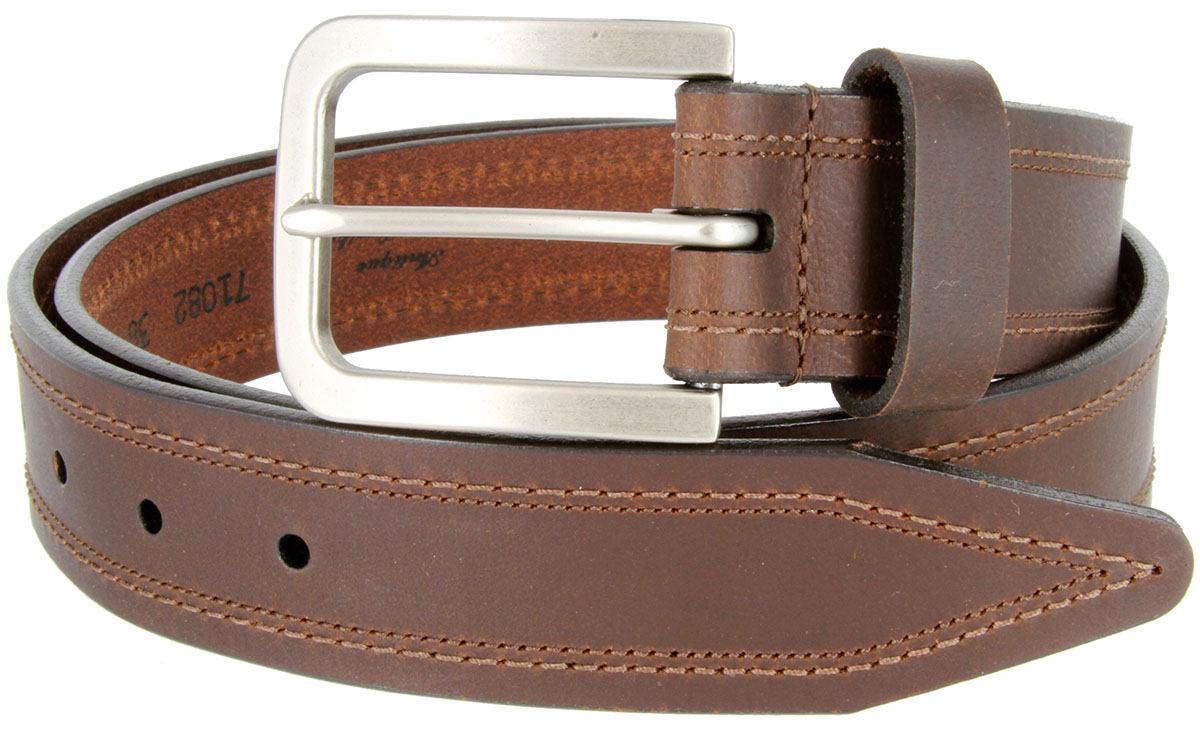 lejon tam genuine leather casual jean belt made in usa 1 1