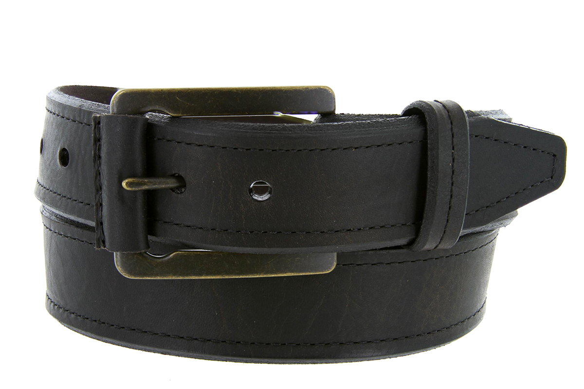 made in usa genuine american bison leather bevel edge