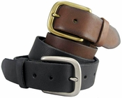 Men's Full Grain Leather Casual Jean Belt