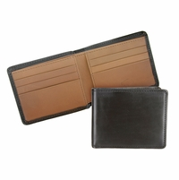 Mesa 105 Black-Chromxl Lejon Bison Leather Wallet Made In USA