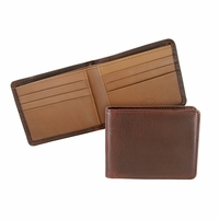 Mesa 106 Brown-Chromxl Lejon Bison Leather Wallet Made In USA