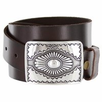 Mesa Southwestern Full Grain leather Casual Jean Belt