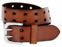Metro Twin Vintage Full Grain Leather Jean Belt $27.50