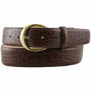 "Mila's Designer Italian Calfskin Dress Belt 1.5"" Wide"