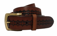 Modesto Men's Vintage Full Grain Leather Belt $27.50