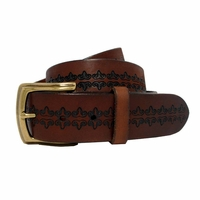 Modesto Men's Vintage Full Grain Leather Belt