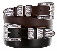 Monte Verde Designer Golf Dress Leather Belt $32.50